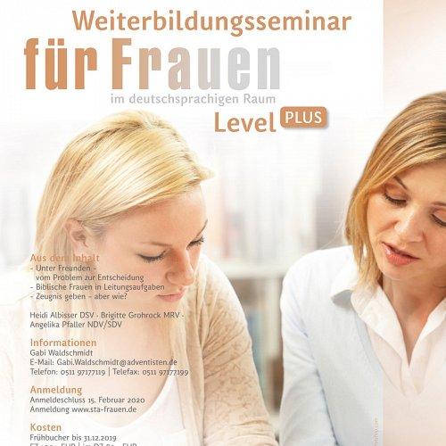 Bild zum Weblog Weiterbildung für Frauen Level PLUS