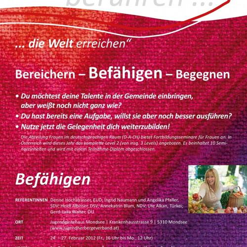 Bild zum Weblog Weiterbildung für Frauen im deutschsprachigen Raum