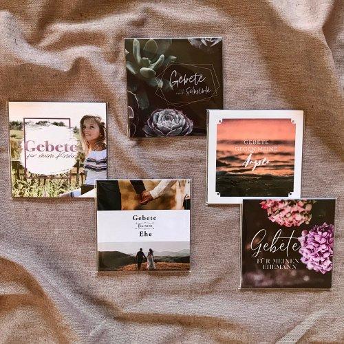 Bild zum Weblog NEU: Gebetskarten - Sets
